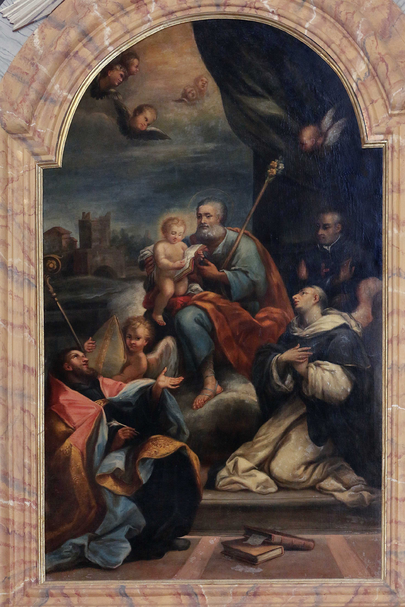 ill. 2 : Autore Ignoto (sec. XVIII), San Giuseppe