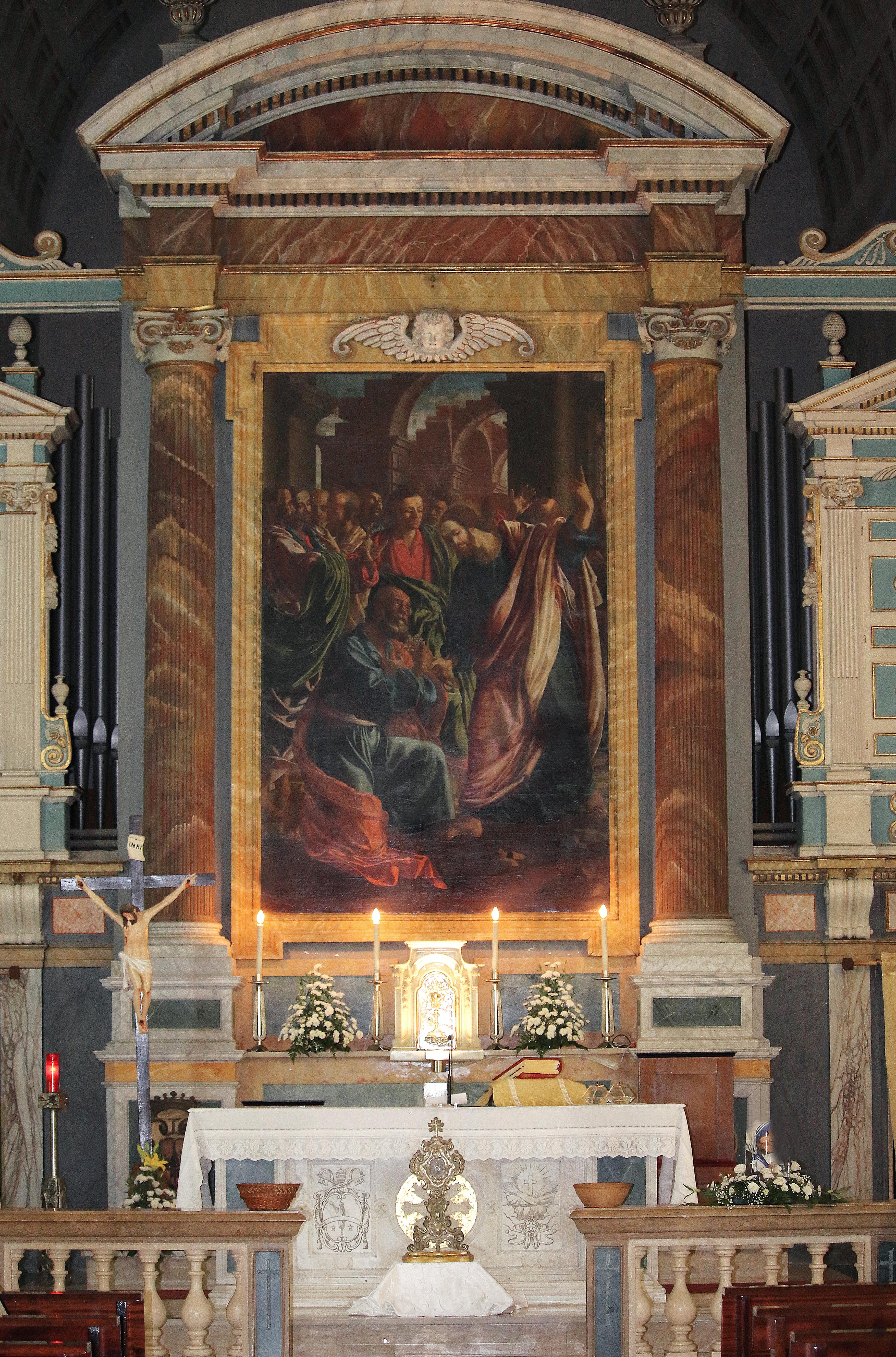 ill. 20 : Autore ignoto (sec. XVIII), Consegna delle chiavi a San Pietro