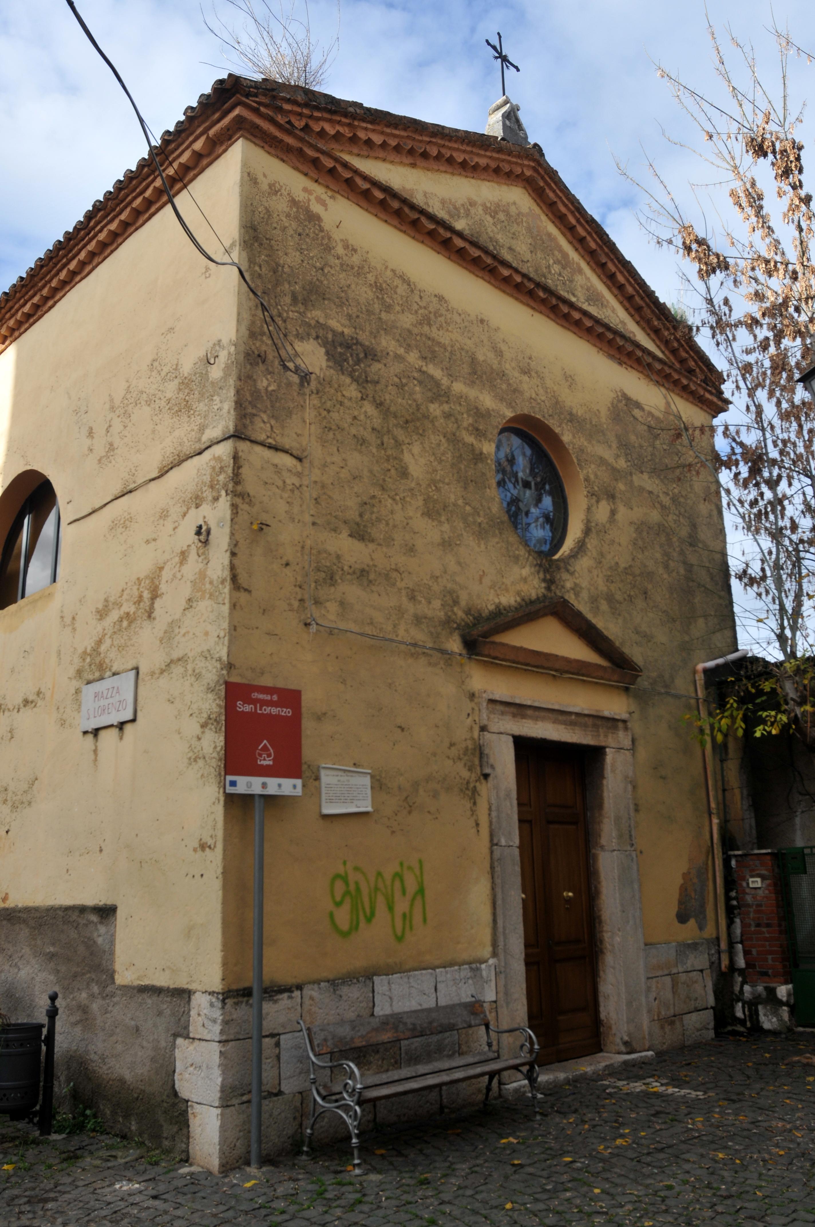 ill.22: Chiesa di S. Lorenzo, facciata