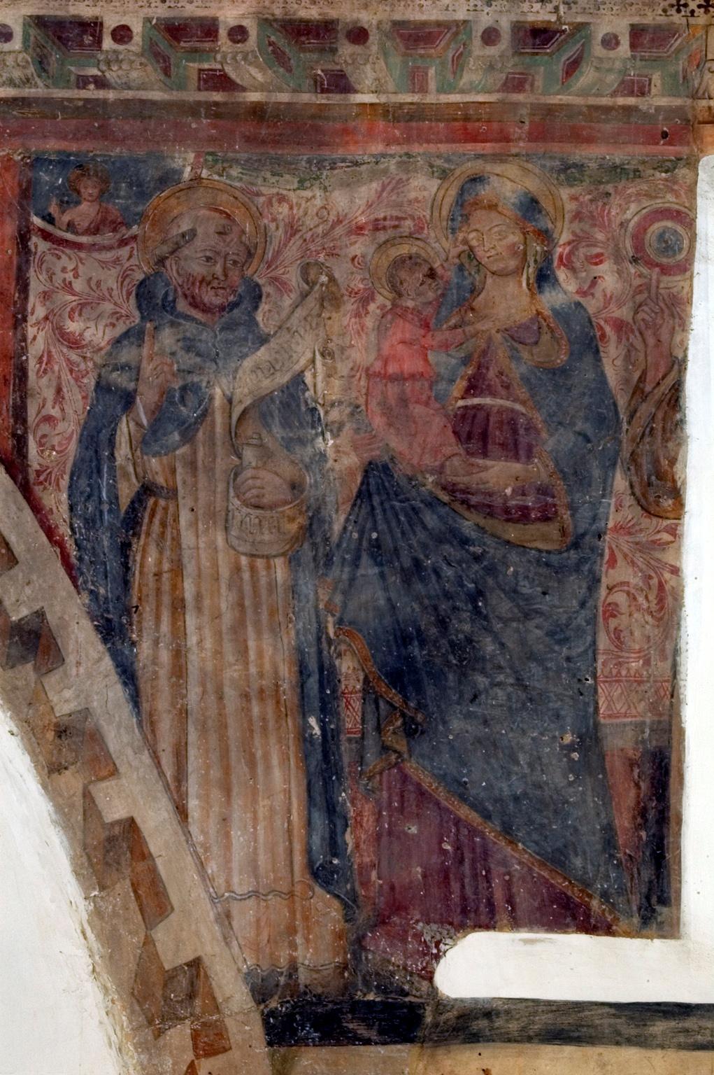 ill.28: Scuola privernate, secc. XIII-XIV, San Nicola vescovo