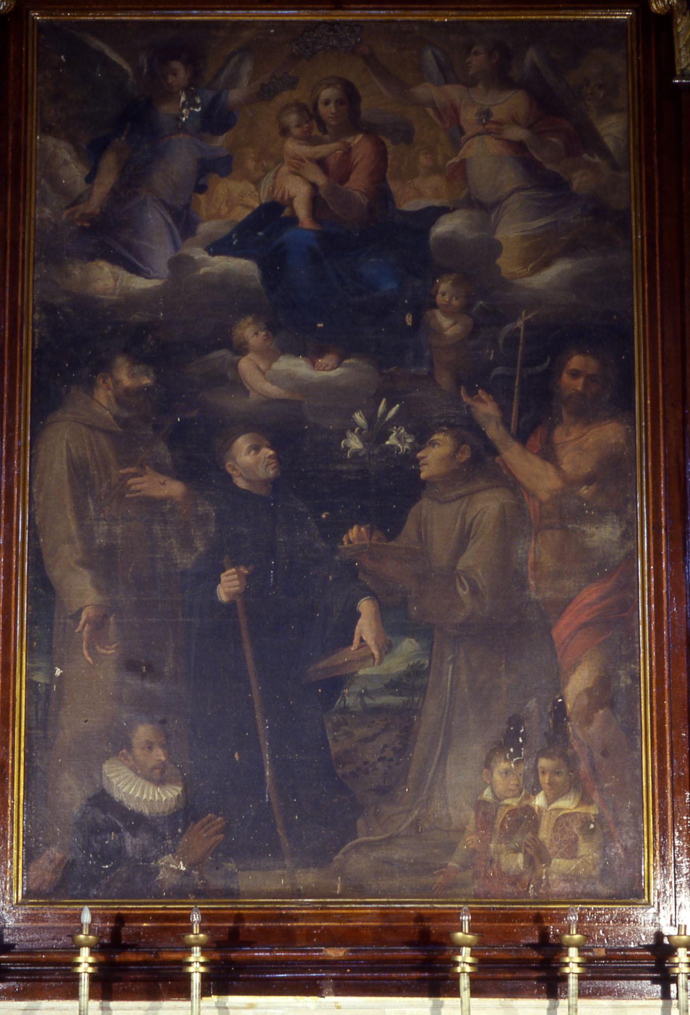 ill.29: Chiesa di S. Francesco d'Assisi, dipinto