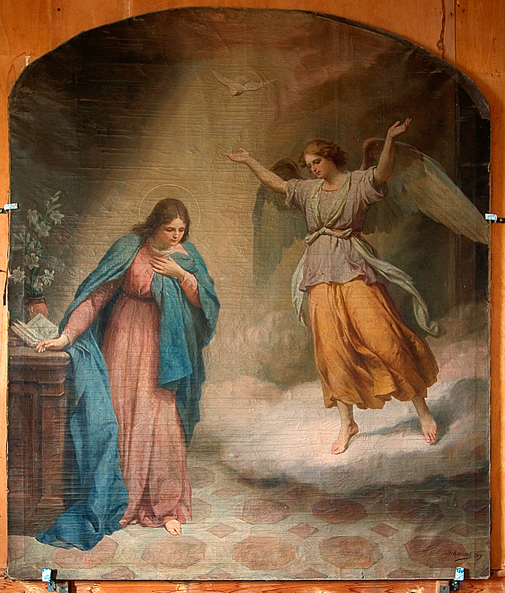 ill,3: Aurelio Mariani (1919), Annunciazione