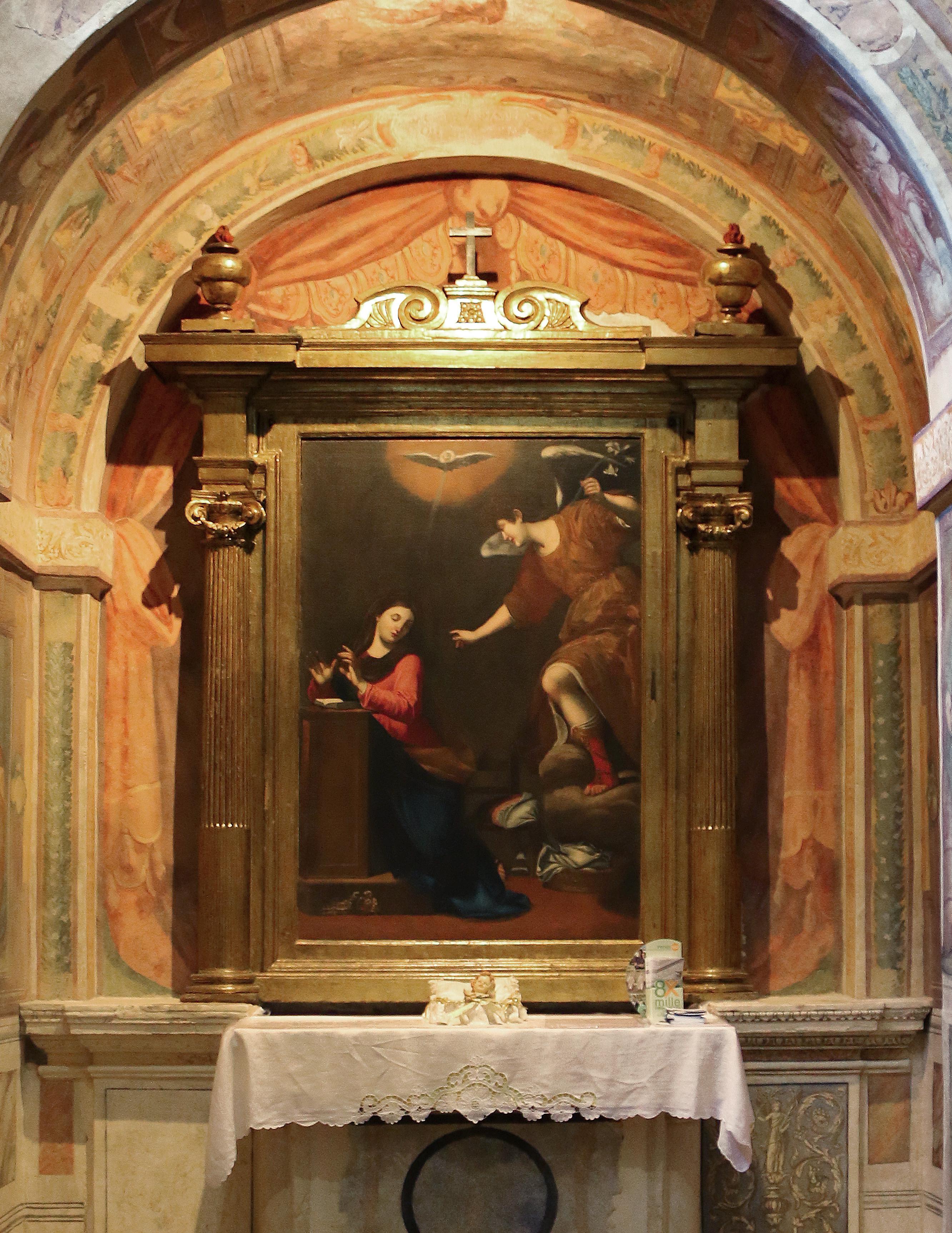 ill.3: Annunciazione Domenico Fiasella