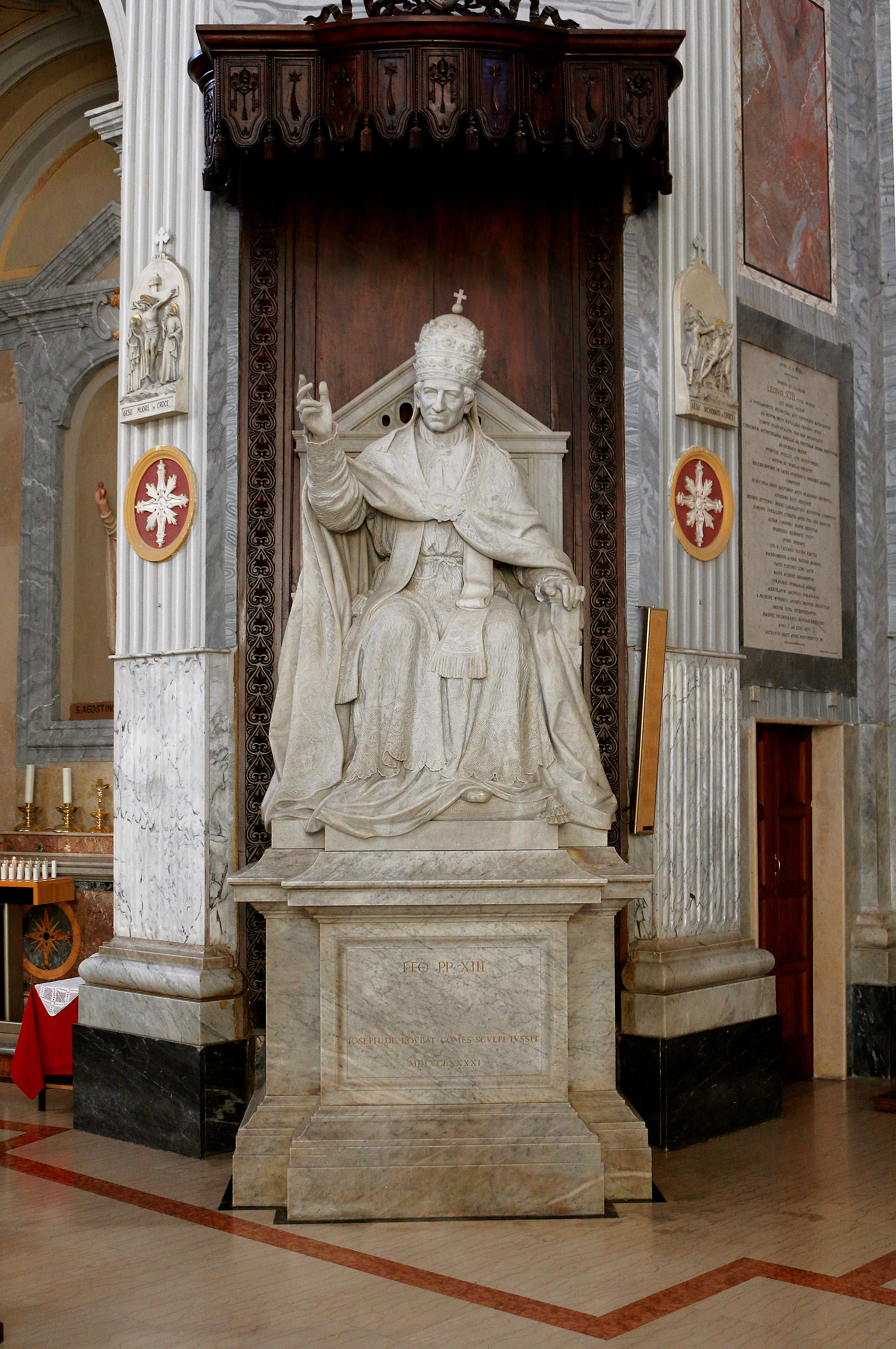 ill. 3 : Giuseppe Luchetti (1891), Papa Leone XIII