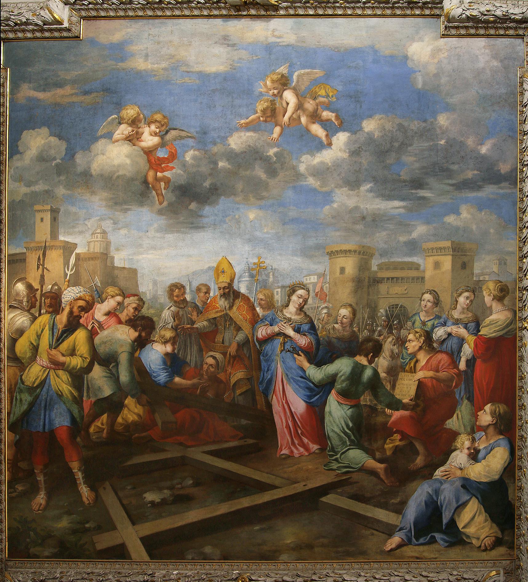 ill. 3: J. e G. Courtois (seconda metà sec. XVII), Elena ritrova la vera Croce