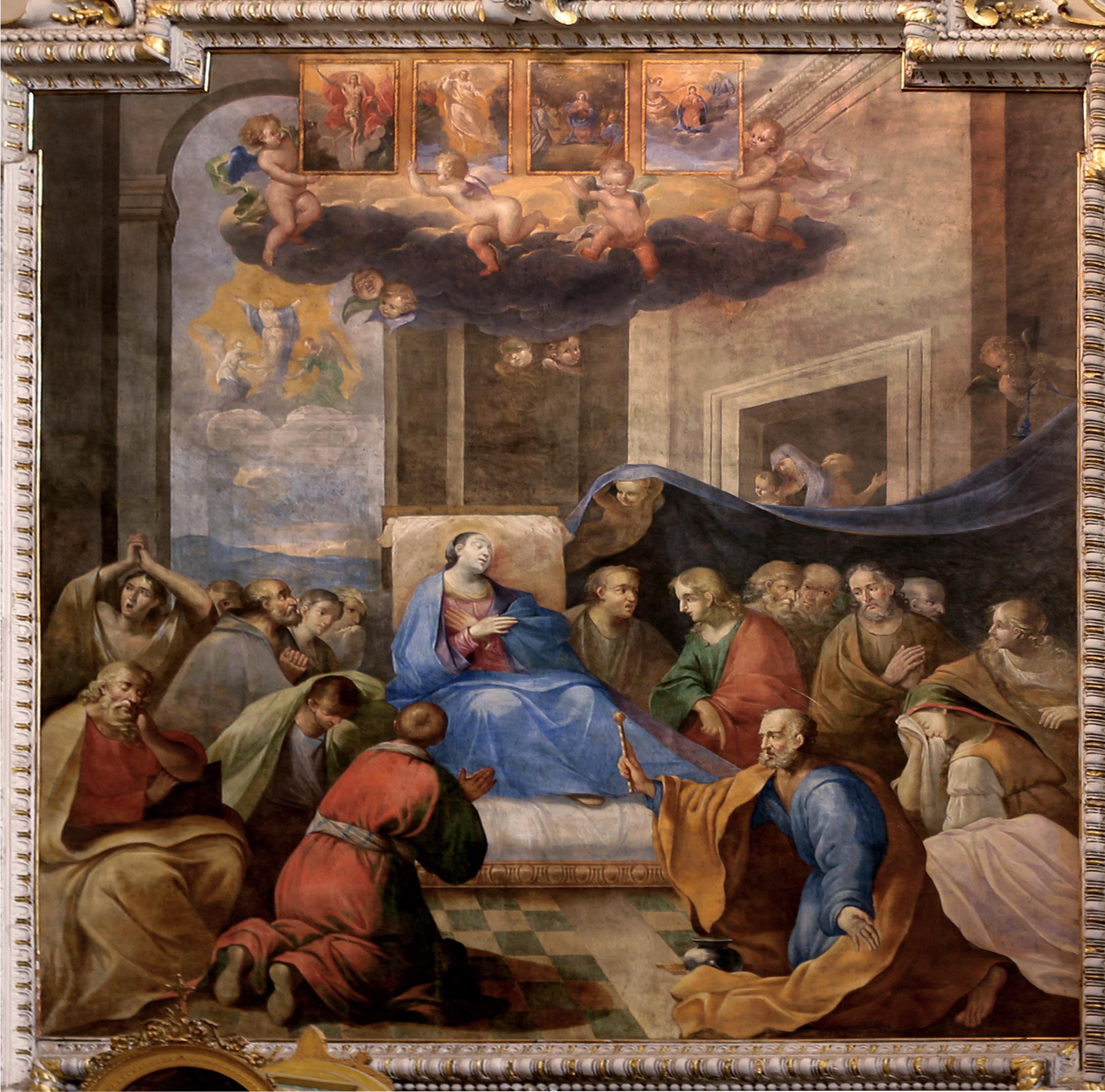 ill. 4: Attr. A. Generoli (1649), La dormizione della Vergine