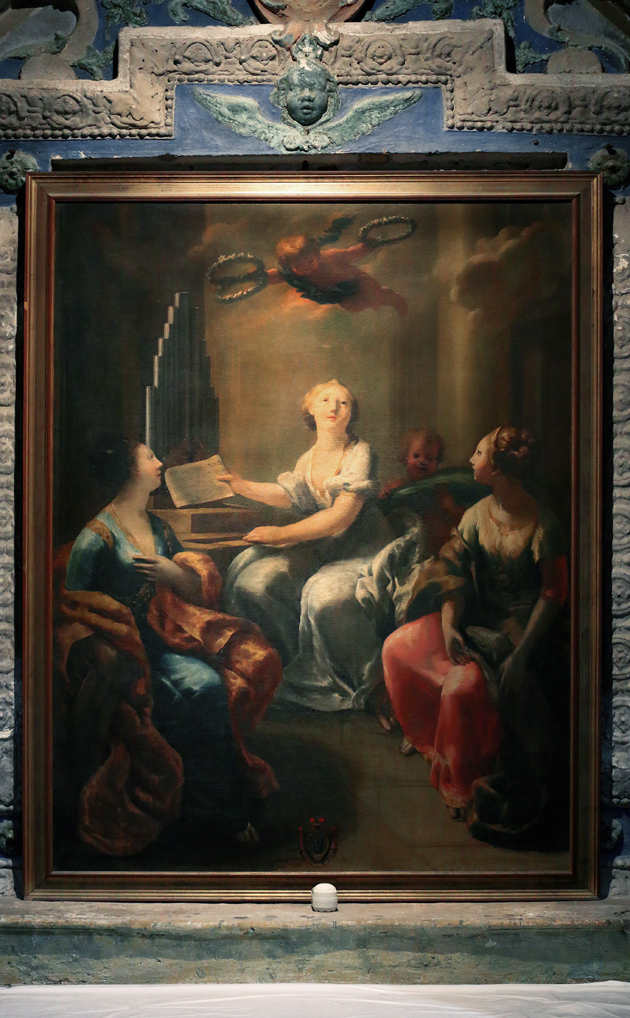ill.4: Sante Vergini e Martiri Cecilia e Caterina d'Alessandria e Agnese