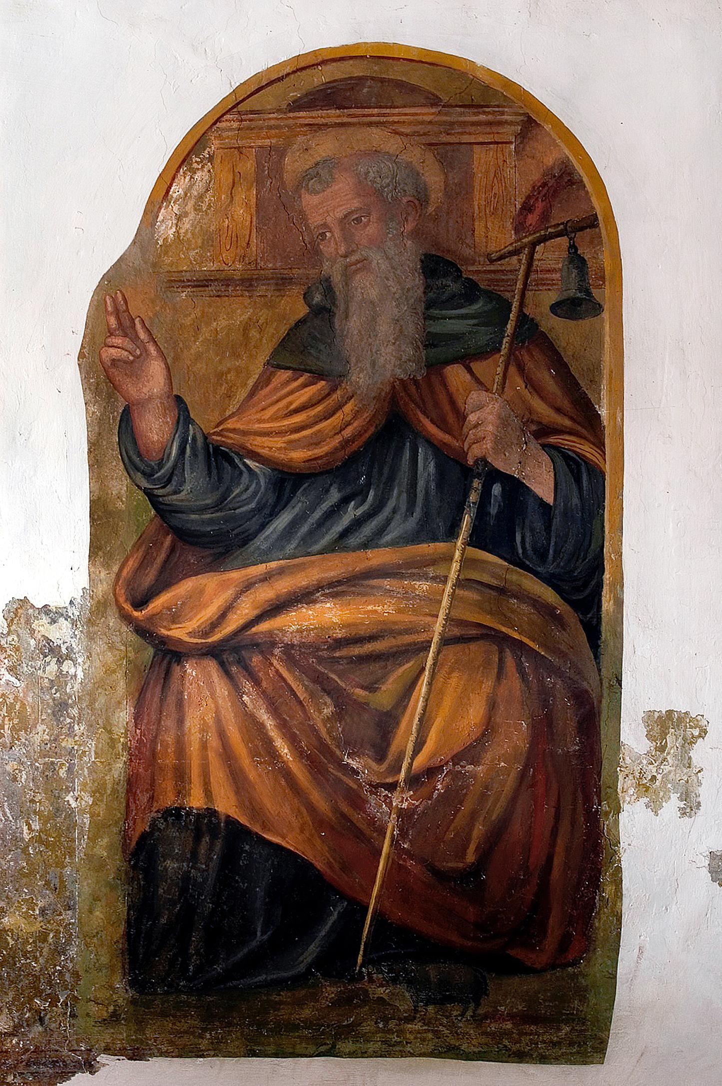 ill,4 : Autore ignoto, secolo XVI, Sant'Antonio Abate