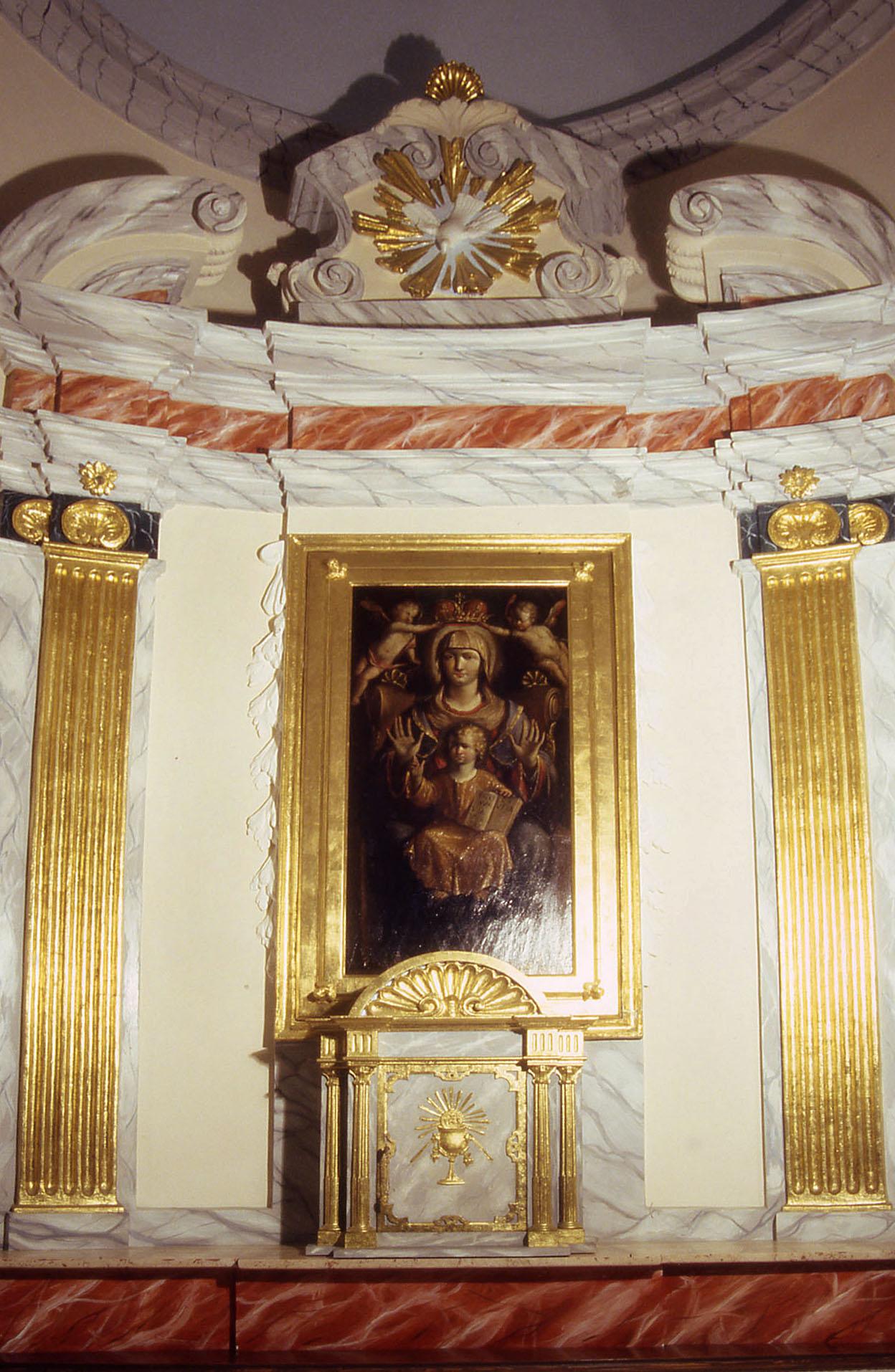 ill.4 : Cappella della Madonna di mezzagosto