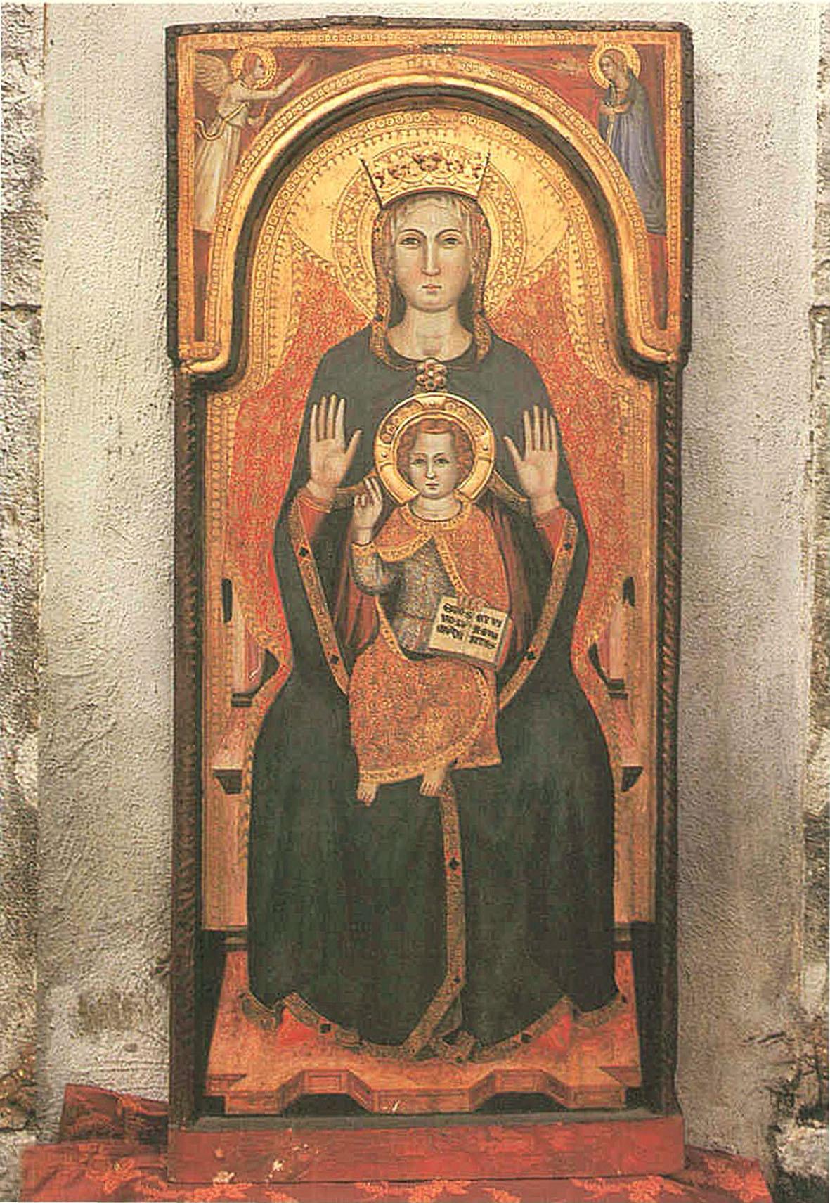 ill.5: Madonna di Mezz'Agosto, sec. XV