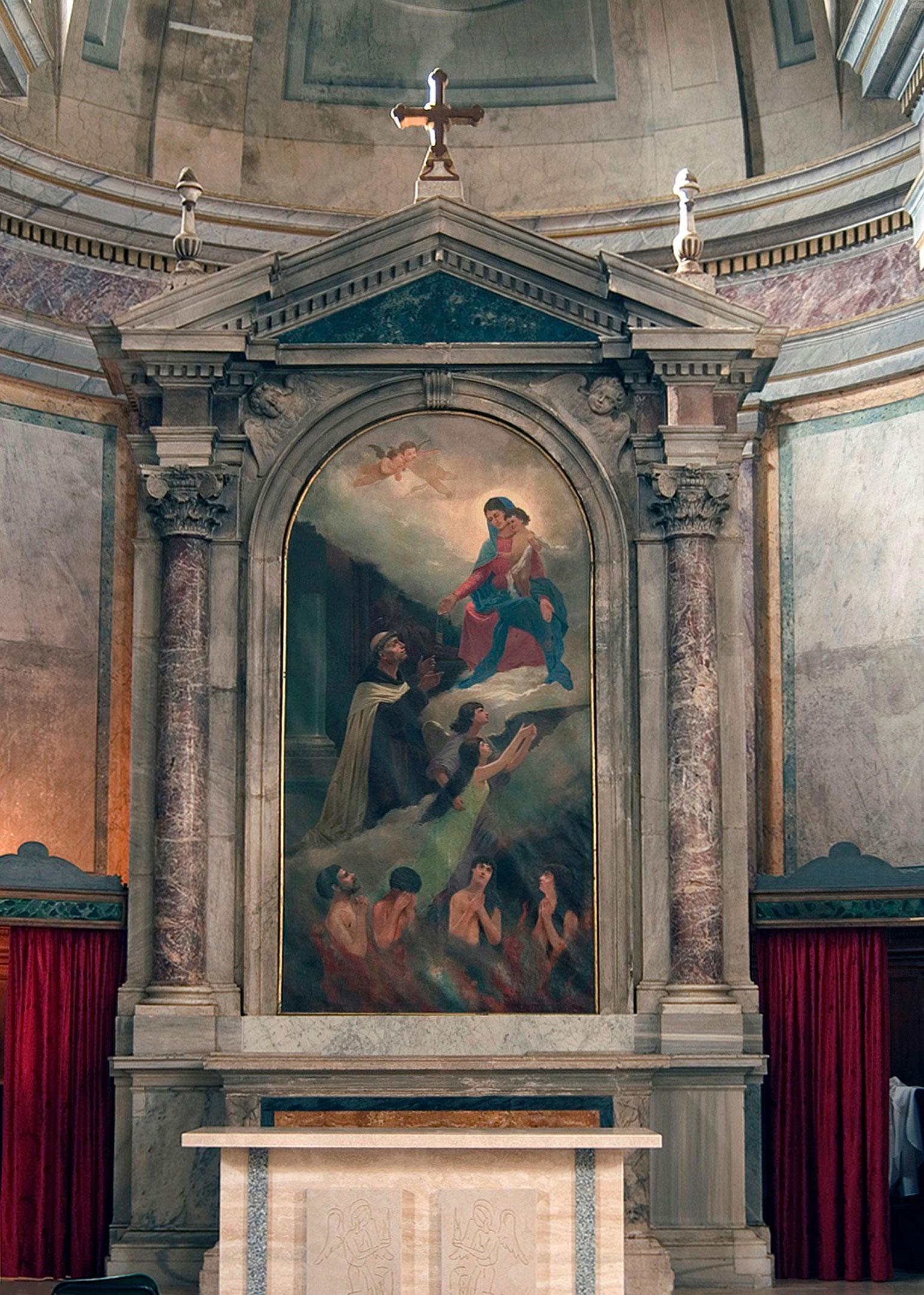 ill.5: Autore ignoto (secolo XIX), Madonna del Carmine