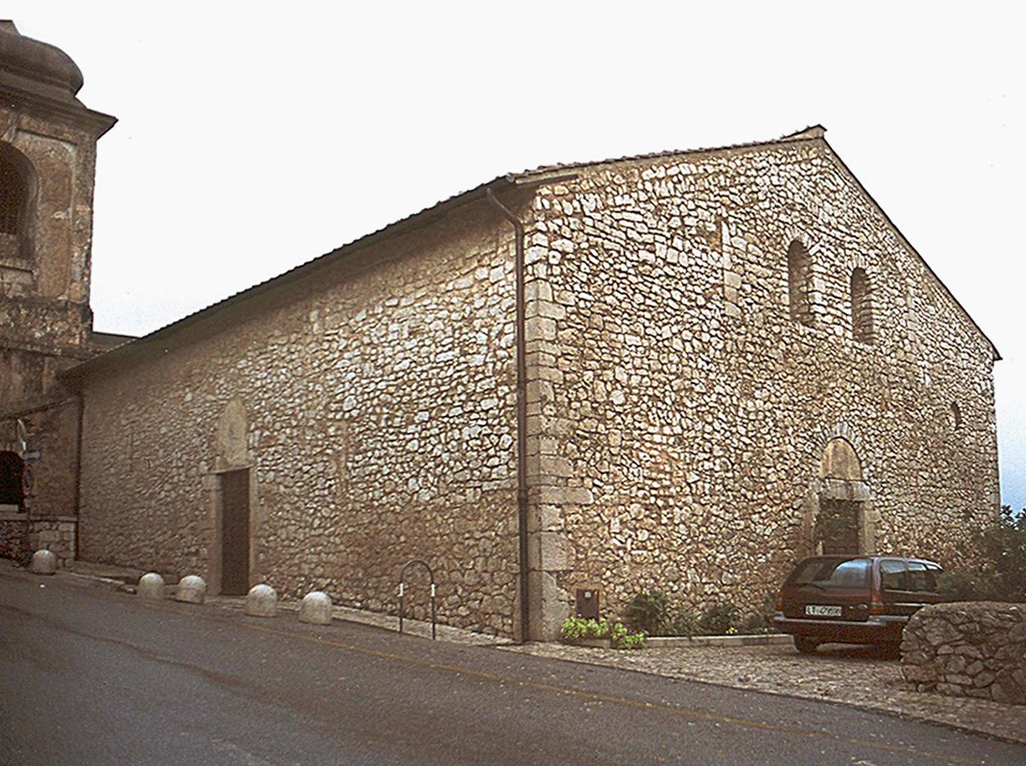ill.6: Chiesa di San Benedetto, facciata