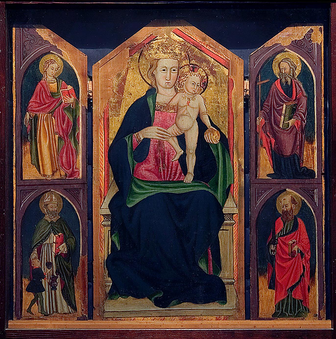 ill.6: Madonna col Bambino e Trittio di Santi