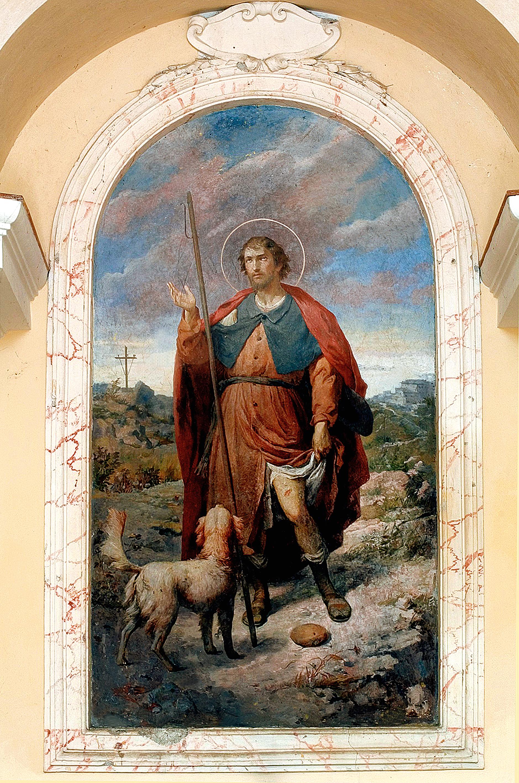 ill. 7: San Rocco, affresco