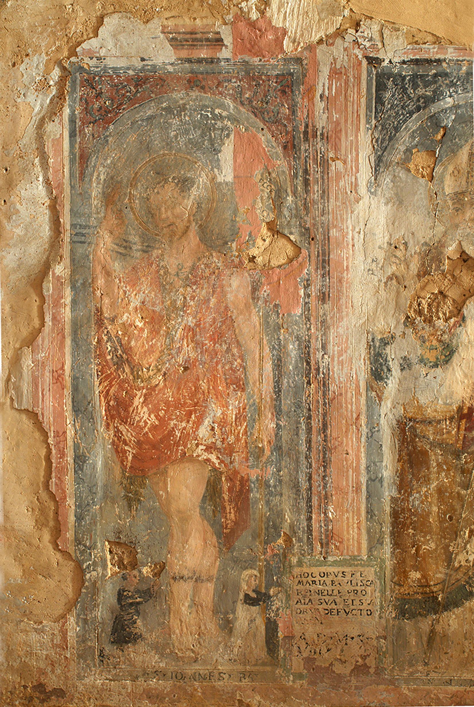 ill.8: San Giovanni Battista - Autore Ignoto