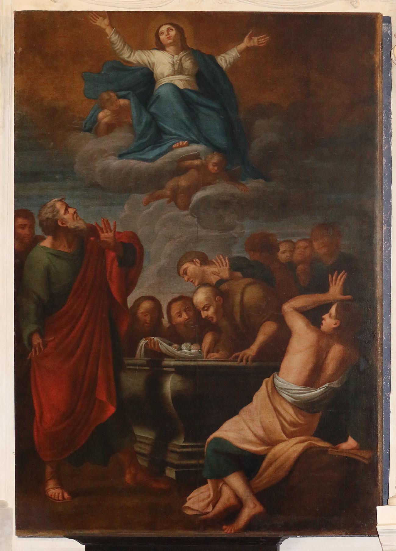 ill.5: Domenico Fiasella - Assunzione, 1613