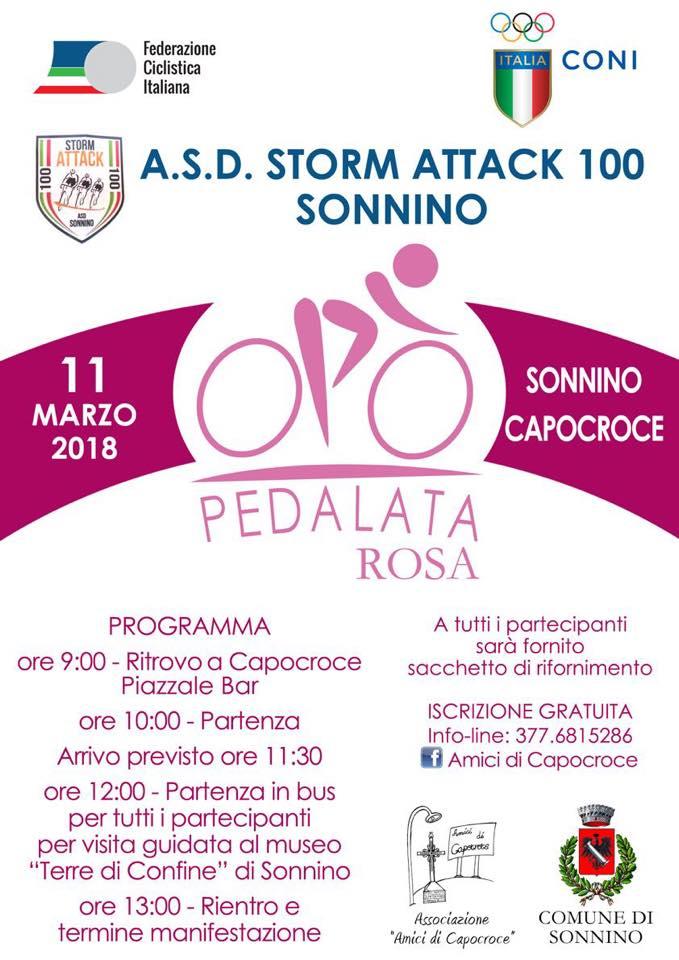 Pedalata Rosa @ Capocroce Piazzale Bar | Capocroce | Lazio | Italia