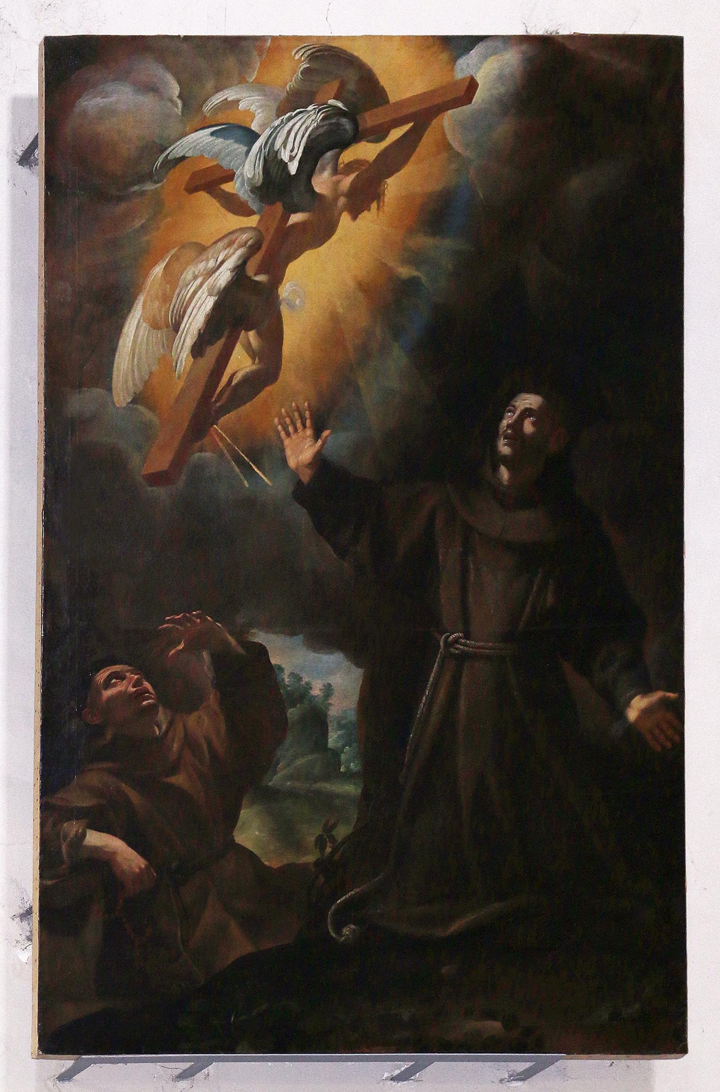 ill.21: Simon Vouet- Le Stimmate di San Francesco, 1615