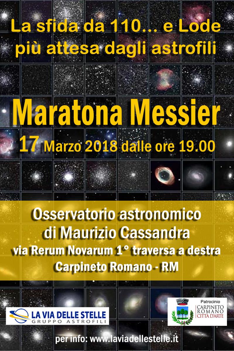 Maratona Messier @ Osservatorio astronomico di Maurizio Cassandra | Carpineto Romano | Lazio | Italia