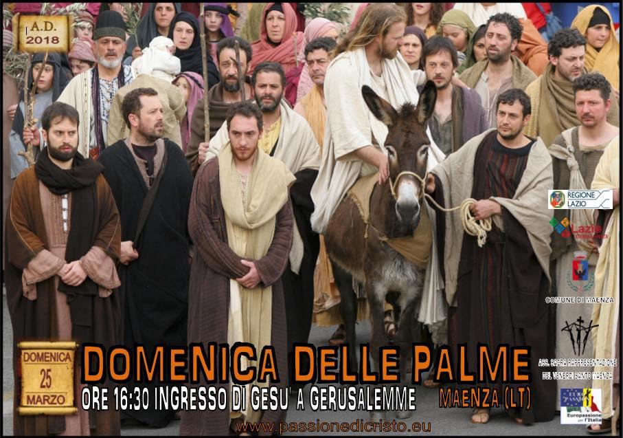 Maenza, Domenica Delle Palme @ Maenza | Lazio | Italia