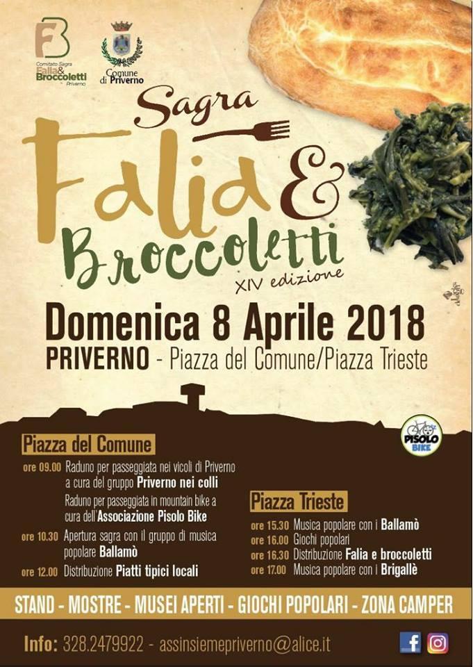 Sagra della Falia e Broccoletti @ Priverno | Priverno | Lazio | Italia