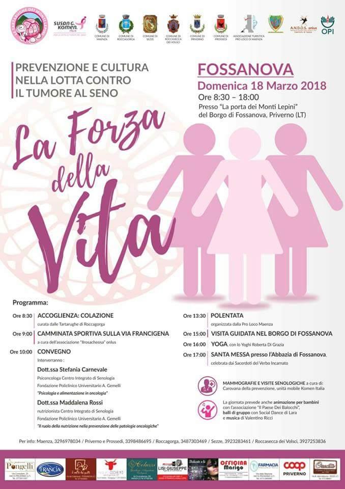 La forza della vita @ Porta dei Monti Lepini | Italia