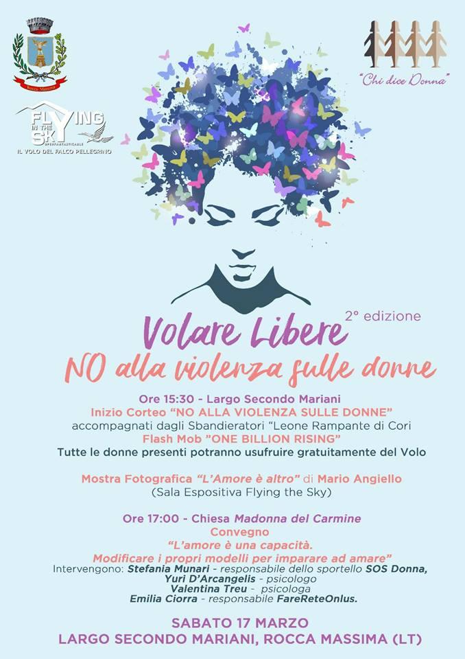 Volare libere @ Largo Secondo Mariani | Rocca Massima | Lazio | Italia