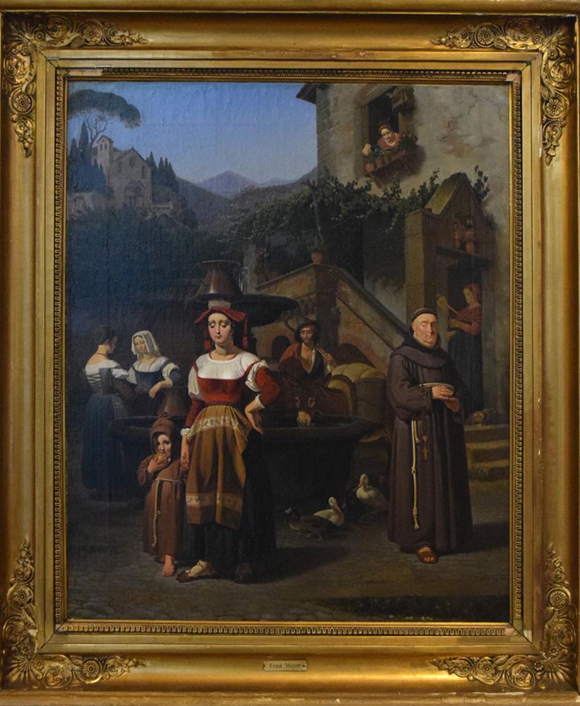 ernst-meyer-1797-1861-scena-di-paese