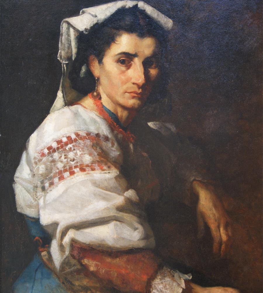 donna-ciociara-olio-su-tela-cm73x60-autore-ignoto