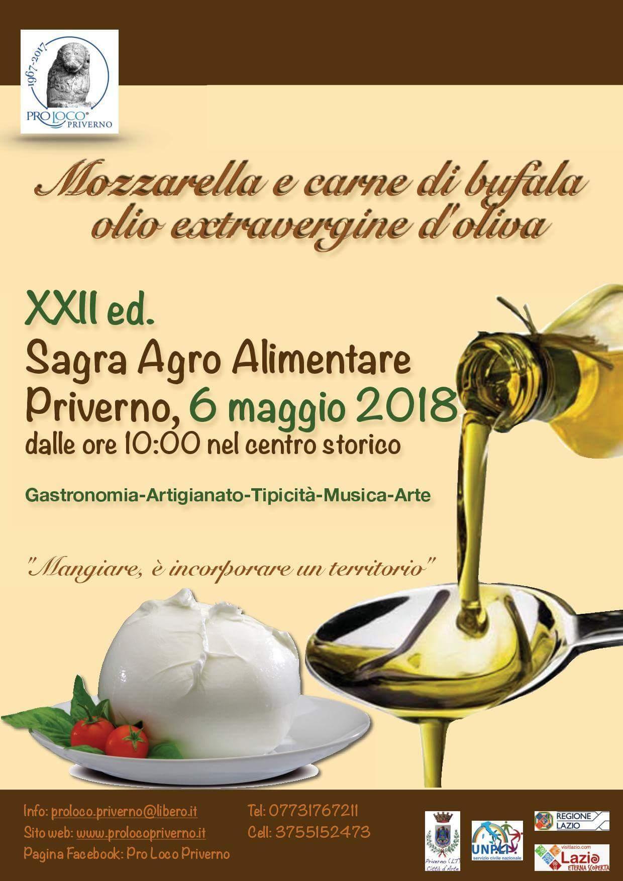 Priverno: XII ed. Sagra agro alimentare @ centro storico | Priverno | Lazio | Italia