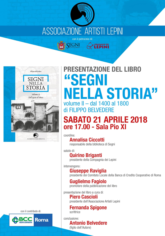 Segni nella Storia @ Sala Pio XI | Lazio | Italia