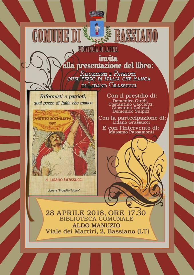 Bassiano, presentazione libro di Lidano Grassucci @ Bassiano | Bassiano | Lazio | Italia