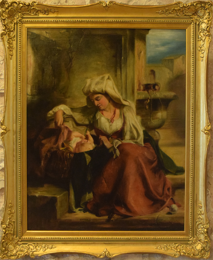 ignoto-donna-romana-con-bambino