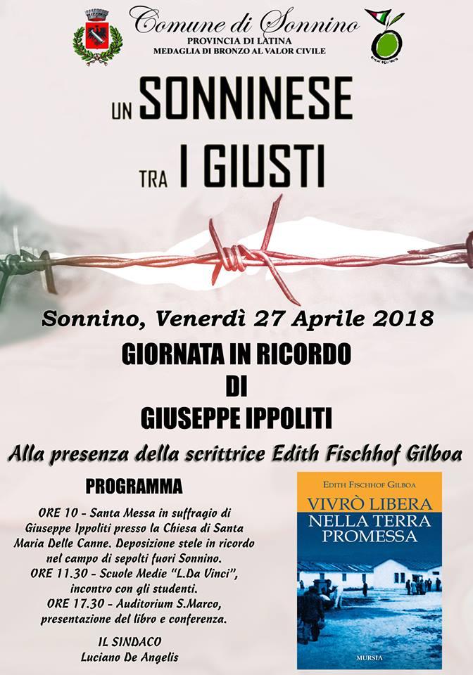 Sonnino: Un sonninese tra i giusti @ Chiesa di Santa Maria Delle Canne | Sonnino | Lazio | Italia