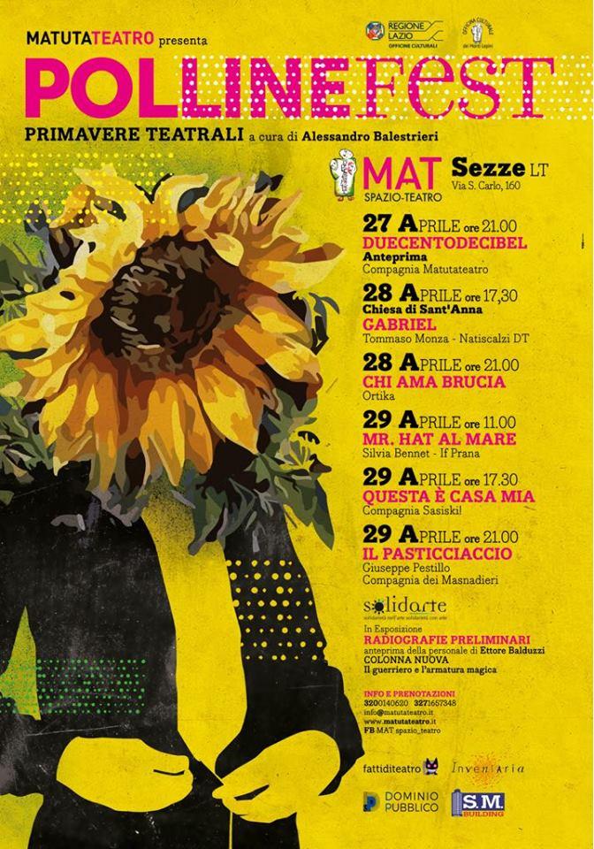 Pollinefest @ Matuta Teatro | Sezze | Lazio | Italia