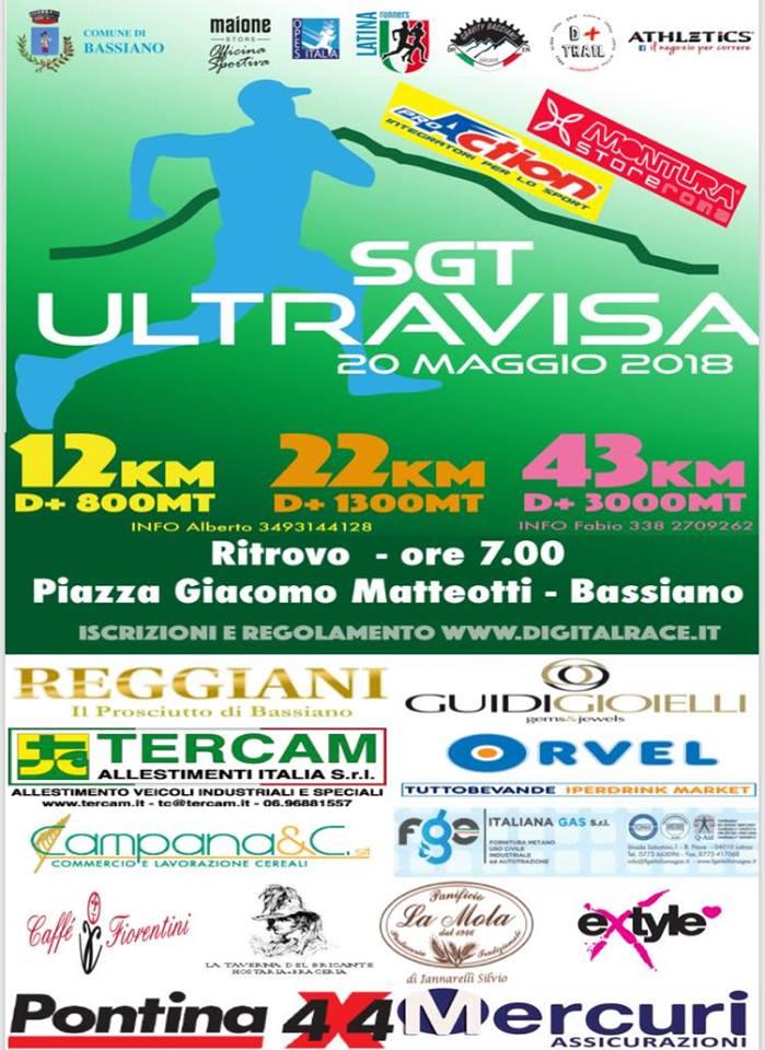 Bassiano: SGT Ultravisa @ Piazza Giacomo Matteotti | Bassiano | Italia