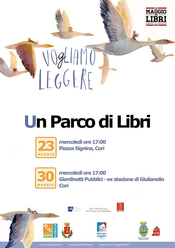 Cori: Un parco di libri @ Cori | Cori | Lazio | Italia