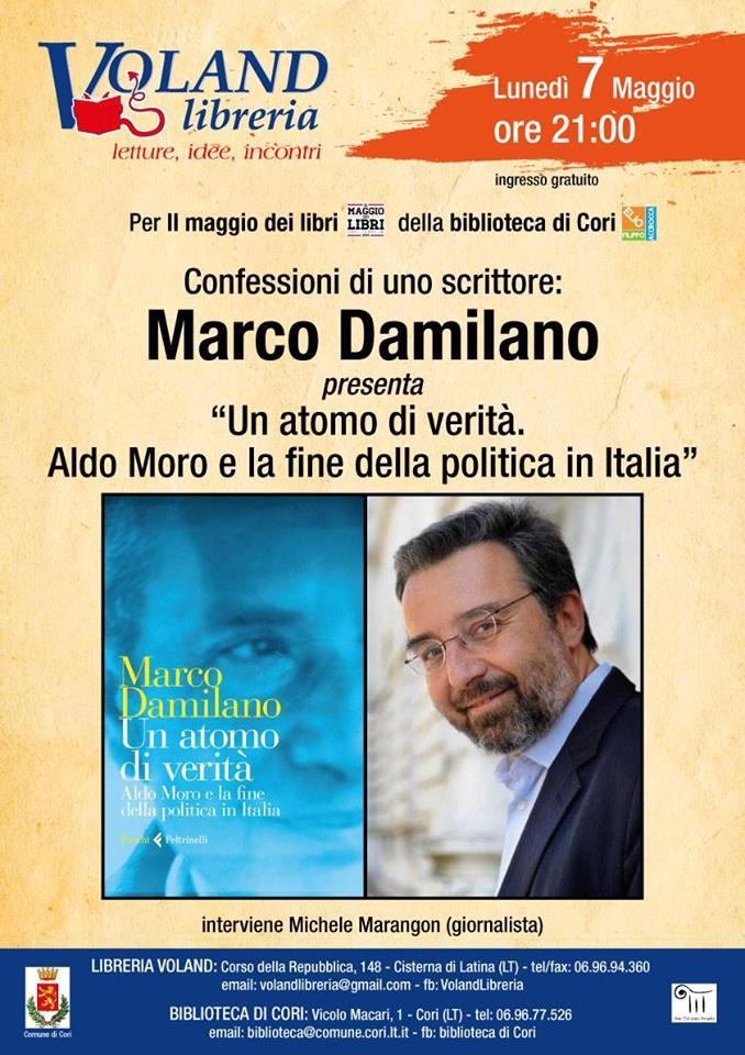 Cori: Confessioni di uno scrittore @ Biblioteca di Cori | Cori | Lazio | Italia
