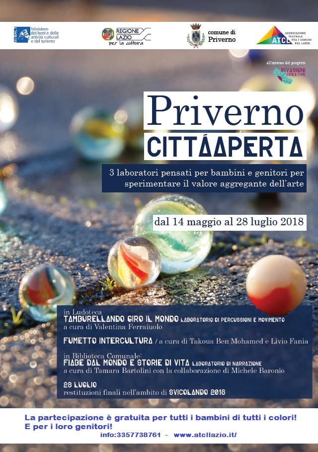 Priverno città aperta @ Priverno | Lazio | Italia