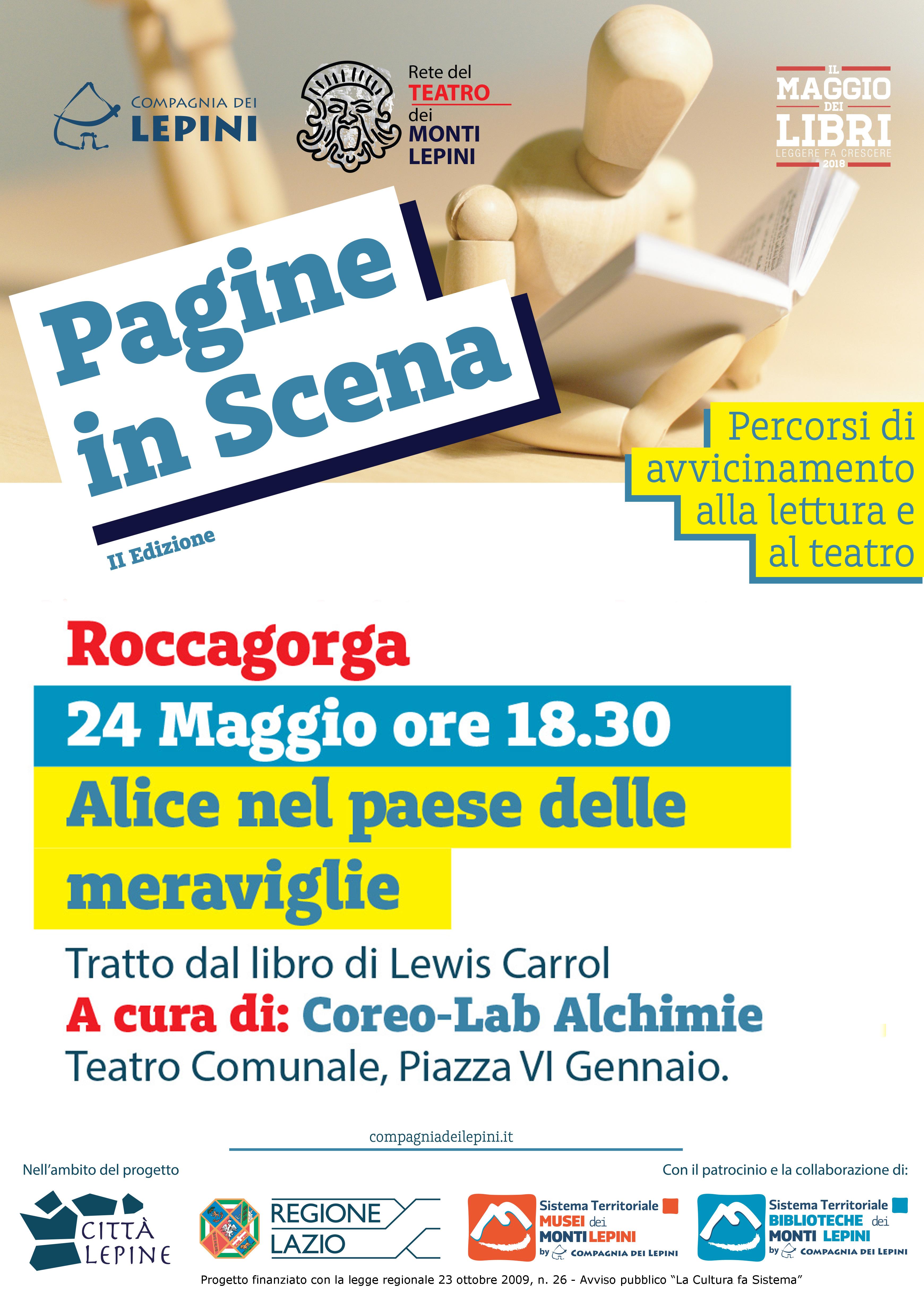 Pagine in scena: Roccagorga @ Teatro Comunale | Roccagorga | Lazio | Italia