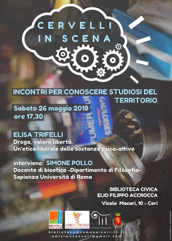 Cori: Cervelli in scena @ Biblioteca Comunale | Cori | Lazio | Italia