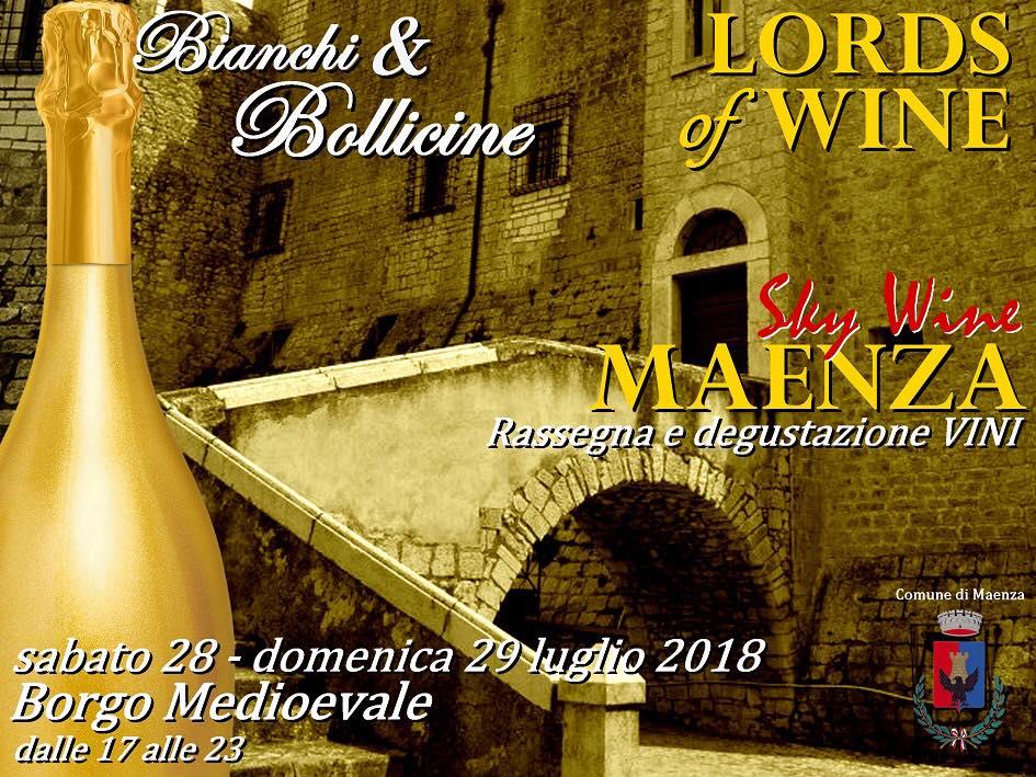 Lords of Wine: Sky wine Maenza @ Maenza | Lazio | Italia