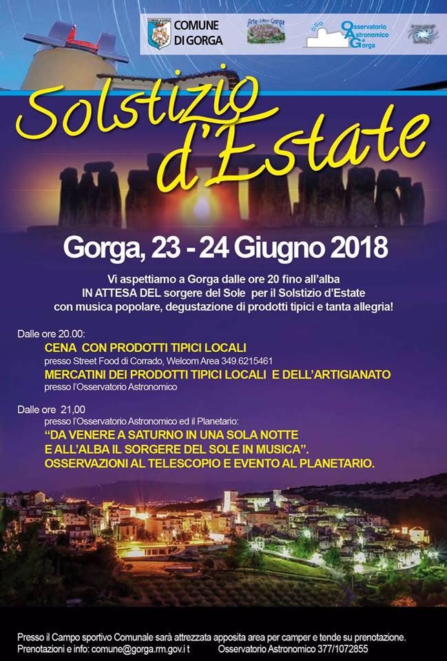 Gorga: Solstizio d'Estate @ Gorga | Gorga | Lazio | Italia