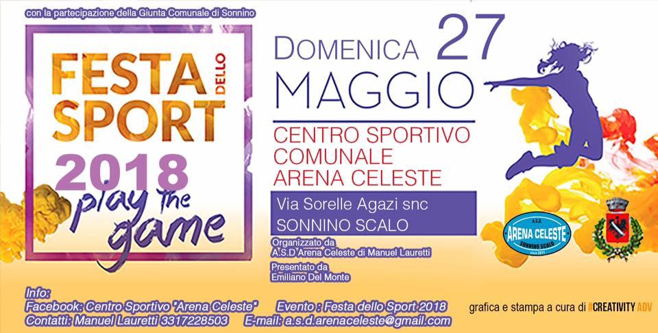 Sonnino, Festa dello Sport 2018 @ Via Sorelle Agazi, Sonnino Scalo | Sonnino | Lazio | Italia