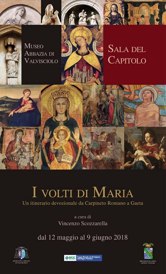 Abbazia di Valvisciolo: I volti di Maria @ Museo Abbazia di Valvisciolo, Sala del Capitolio | Sermoneta | Lazio | Italia