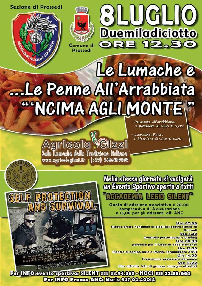 Prossedi: Lumacando in montagna @ Prossedi | Prossedi | Lazio | Italia