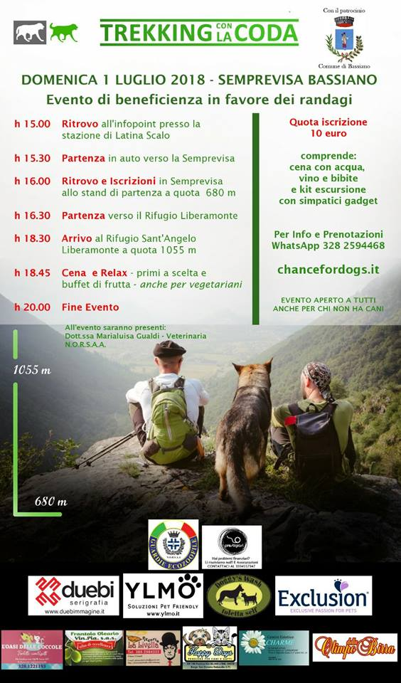 Trekking con la coda @ Monte semprevisa | Bassiano | Lazio | Italia