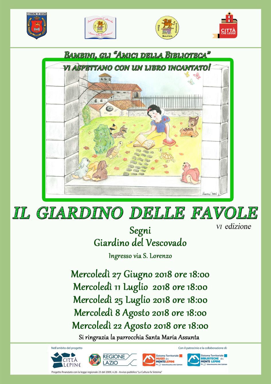 Città Lepine Segni: Il giardino delle favole
