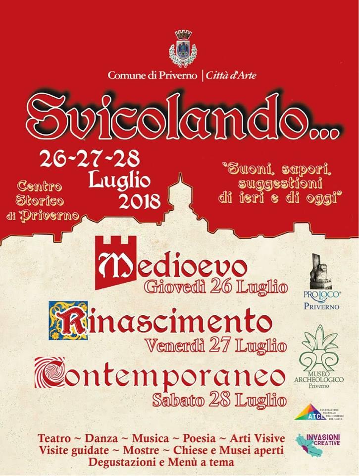 Priverno: Svicolando @ Centro storico | Priverno | Lazio | Italia