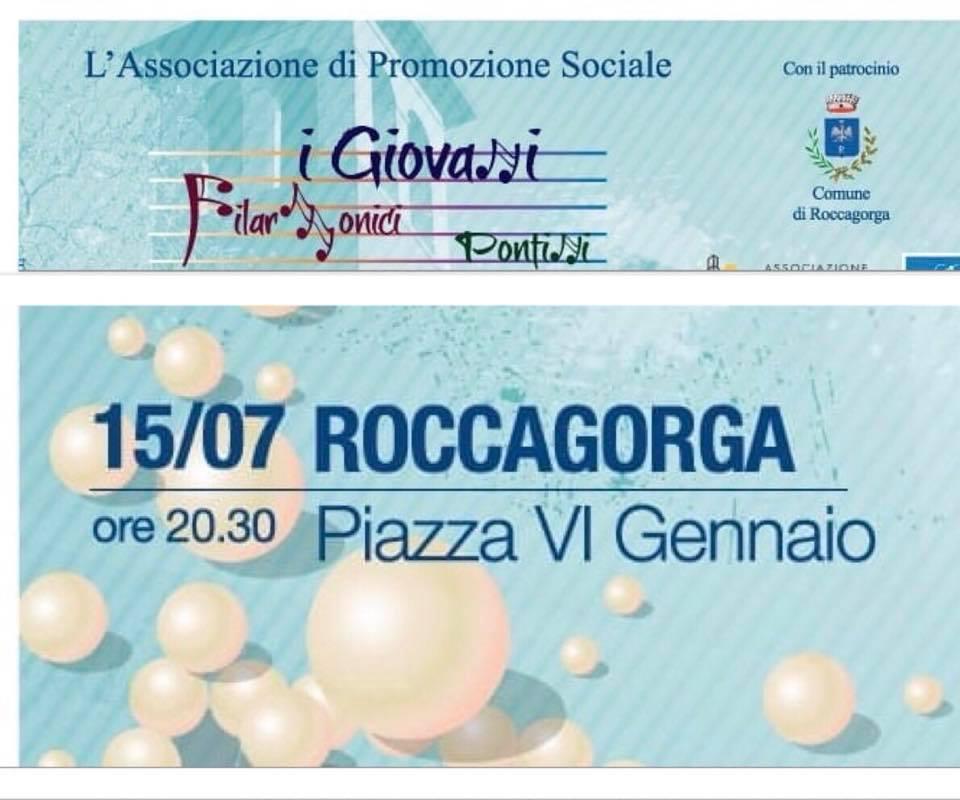 Roccagorga: Concerto dei Giovani Filarmonici Pontini @ Roccagorga | Lazio | Italia